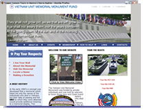 Vietnam Memorial - San Diego Web Site Design in Coronado